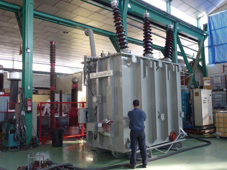 Transformadores Molina - Reparación de transformadores