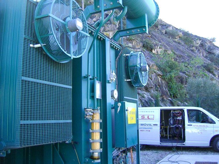 Molina Talleres Electrotécnicos transformadores de potencia 1