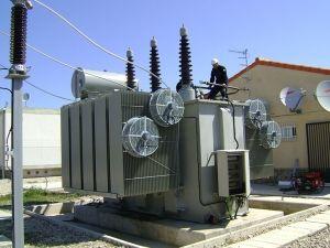 Transformadores Molina - Montaje de transformadores de potencia