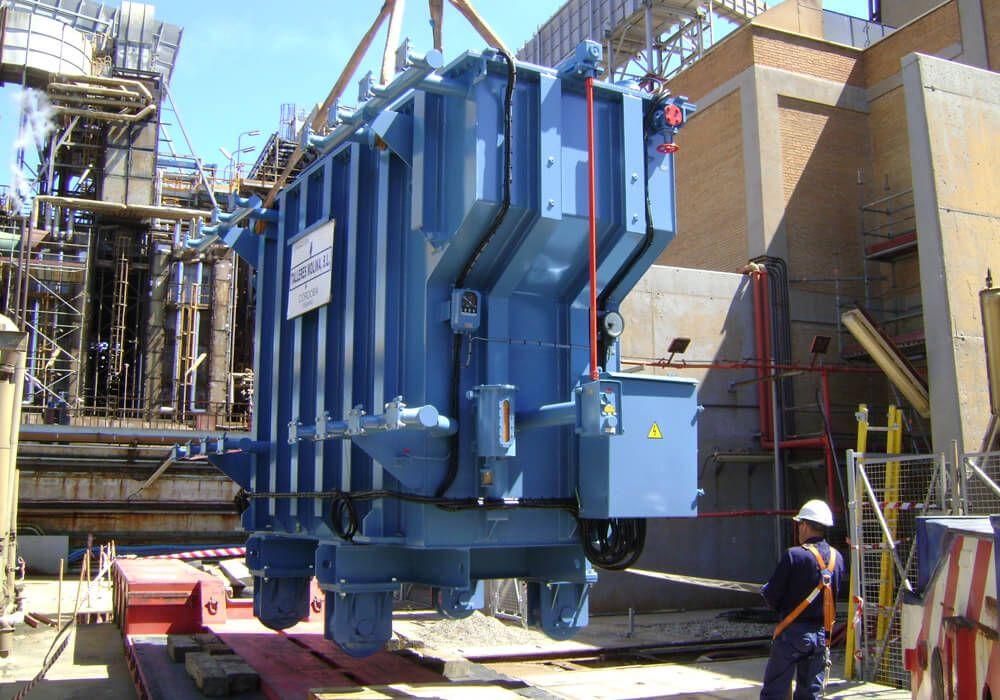 transformadores molina montaje transformadores potencia 11 - Montaje de transformadores de potencia