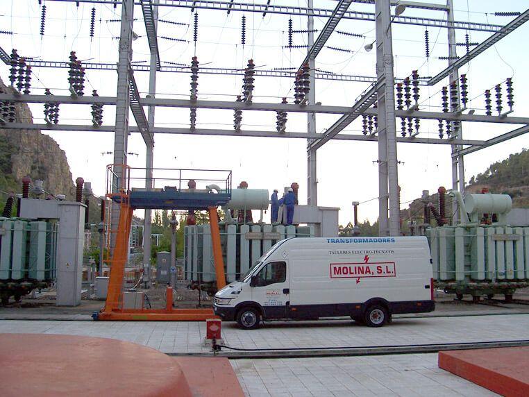 mantenimiento transformadores